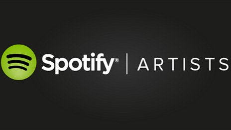 Spotify Artists site logo