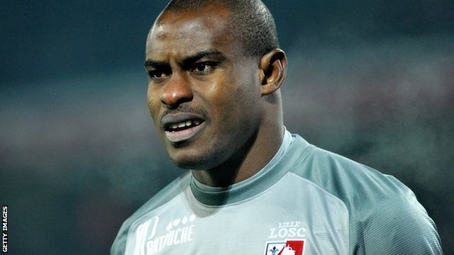 Nigeria and Lille goalkeeper Vincent Enyeama