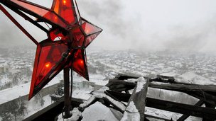 A star over the old coal mine