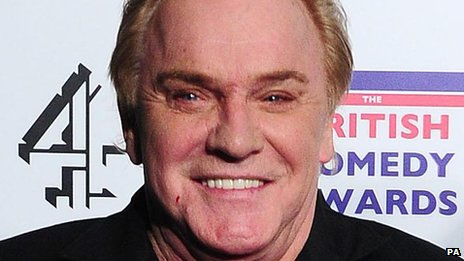 Freddie Starr, pictured in December 2011