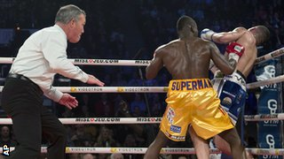 Adonis Stevenson beats Tony Bellew