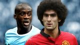 Yaya Toure, Marouane Fellaini