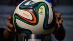 The official 2014 FIFA World Cup match ball was unveiled on Wednesday by manufacturers Adidas.