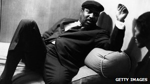 Thelonious Monk, pictured in 1961