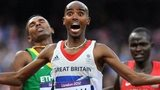 British athlete Mo Farah