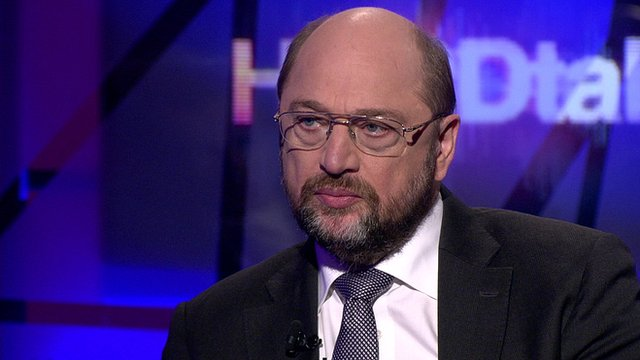 President of the European Parliament, Martin Schulz
