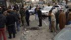 Deadly rocket attack in north Syria