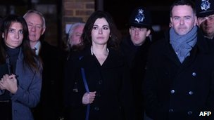 Nigella Lawson leaves court