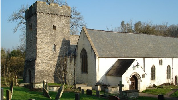 Llancarfan Church, Vale of Glamorgan