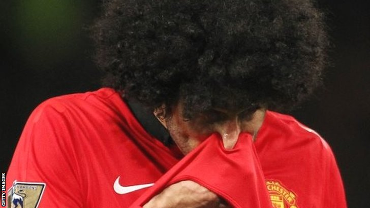 Man United fans direct anger at Marouane Fellaini after Belgian ruled out for another week [Tweets]
