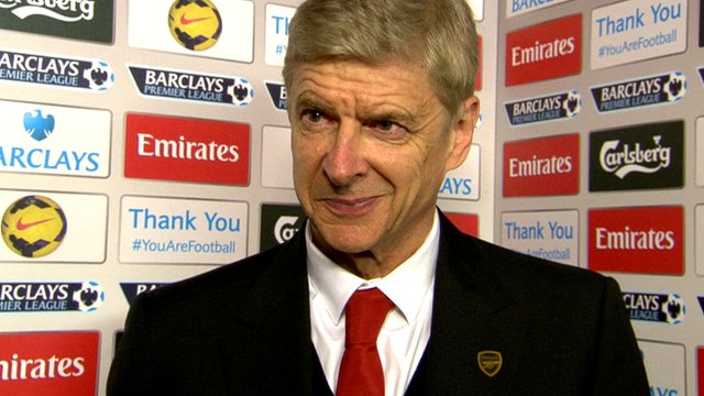 Arsene Wenger discusses Arsenal's 2-0 win over Hull