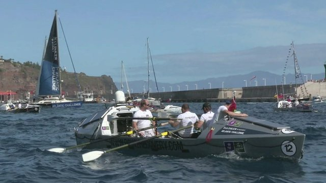 VIDEO: Soldiers in Atlantic rowing challenge...