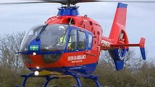The Devon Air Ambulance
