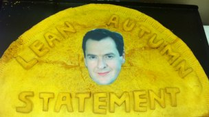 Autumn Statement pasty