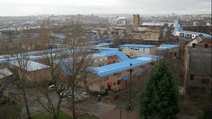 The Byker estate in Newcastle