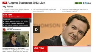 Autumn Statement coverage