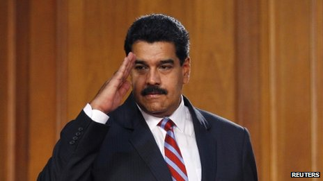Venezuelan President Nicolas Maduro arrives at the National Assembly in Caracas on 4 December, 2013