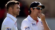 James Anderson & Alastair Cook