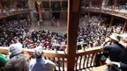 Scene at Shakespeare's Globe