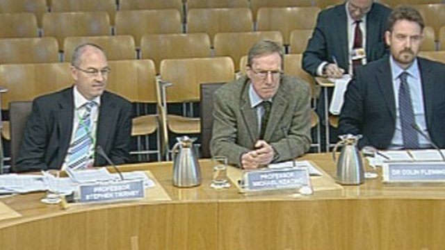 Academics give evidence to the European and External Affairs Committee