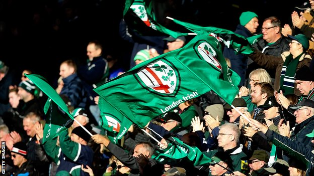 Consortium takes over London Irish...