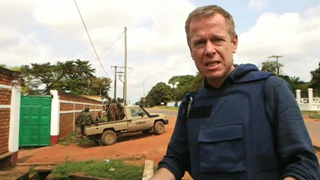 France takes military action in CAR...