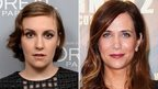 Lena Dunham and Kristen Wiig