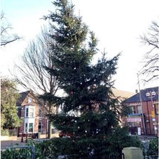 Ilkeston Christmas tree