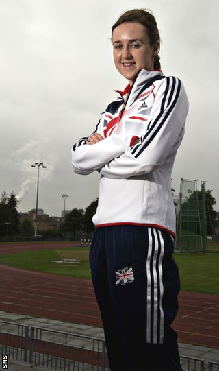 Laura Muir will be in Scotland colours in January