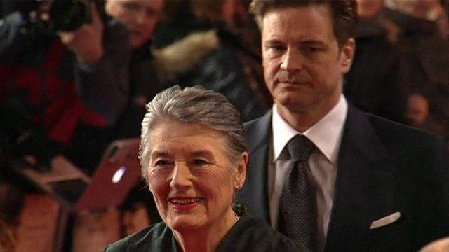 Patti Lomax and Colin Firth