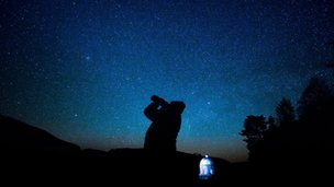Astronomer on Elan Valley estate
