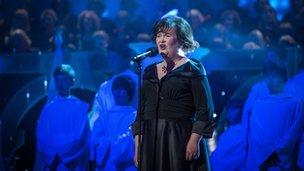 Susan Boyle at Big Sing, Royal Albert Hall