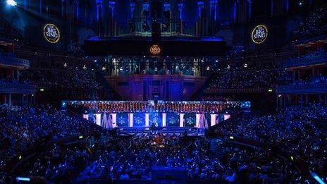 Big Sing at Royal Albert Hall
