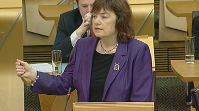 Scottish Labour MSP Sarah Boyack