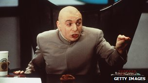 Dr Evil, as portrayed by Mike Myers