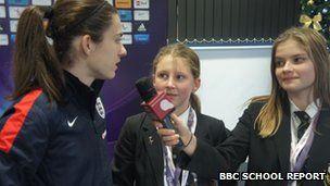 Interviewing Karen Carney
