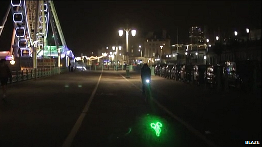 Blaze bicycle light