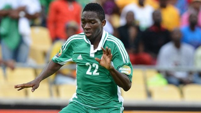 Nigeria and Chelsea defender Kenneth Omeruo