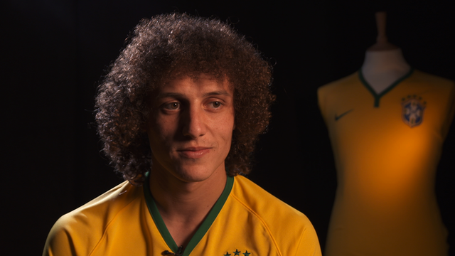 Brazil and Chelsea defender David Luiz