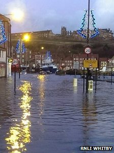 New Quay Road in Whitby