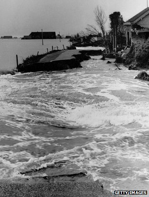 More than 1,000 people lost their lives in the Netherlands during the 1953 flood (Getty Images)