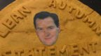 George Osborne's head on a pasty