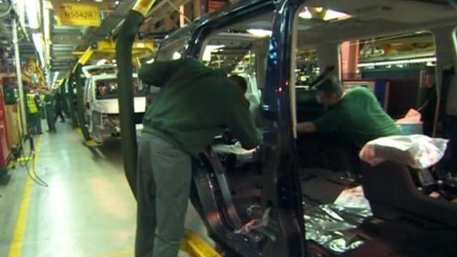 Jaguar Land Rover production line