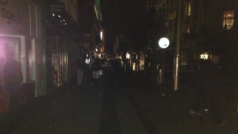Middlesbrough power cut