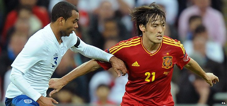 Ashley Cole v David Silva