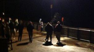 Gorleston promenade