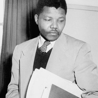 Nelson Mandela as a young lawyer