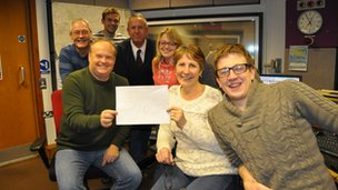 BBC Radio Suffolk team