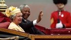 Nelson Mandela and the Queen