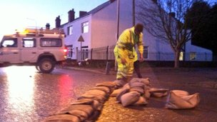 sandbagging in keadby